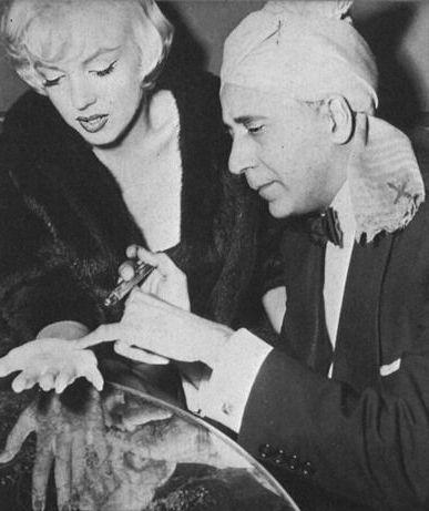 Marylin Monroe et le médium Hassan