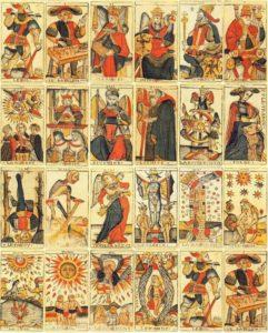 Tarot de Marseille au moyen-âge