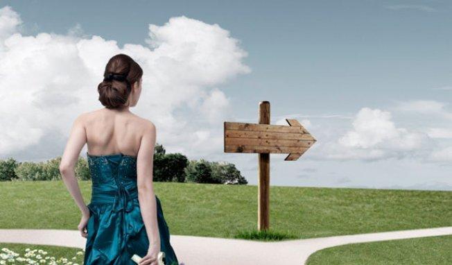 le choix à faire dans un chemin de vie