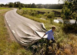 marcher sur son chemin de vie en nature