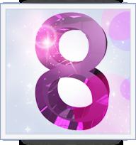 le numero 8 en numerologie