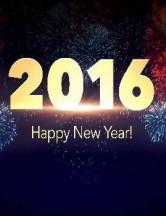 Joyeuse annee 2016