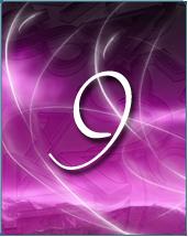le chiffre ecrit en violet