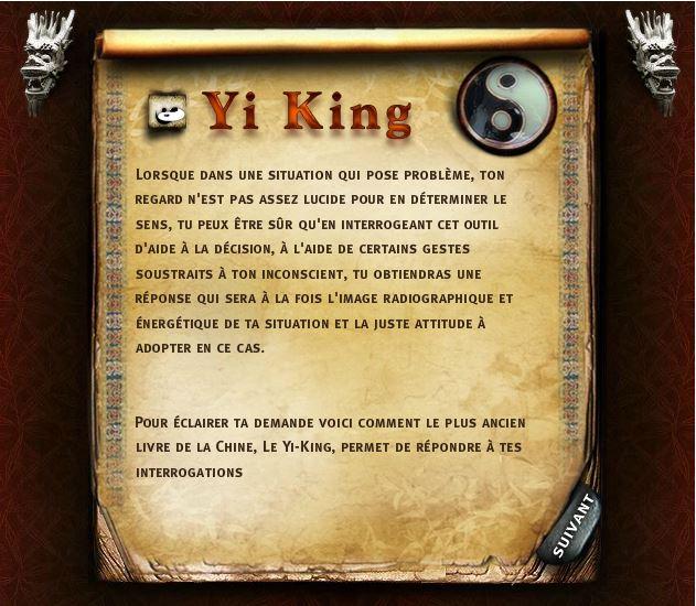 Tarot Chinois Yi King