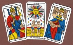 Les lames du tarot de marseille divinatoire
