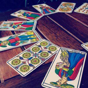 Les lames du tarot divinatoire gratuit de marseille