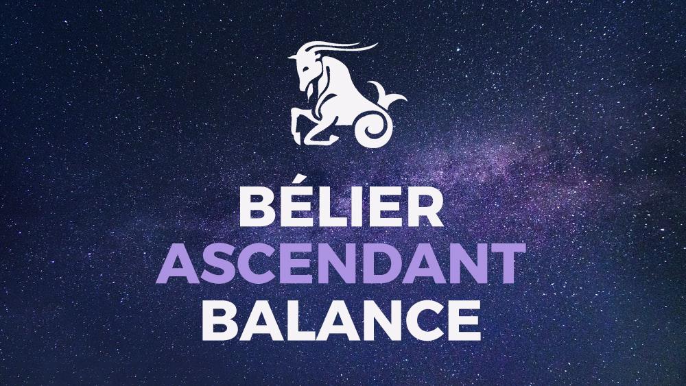 belier ascendant balance