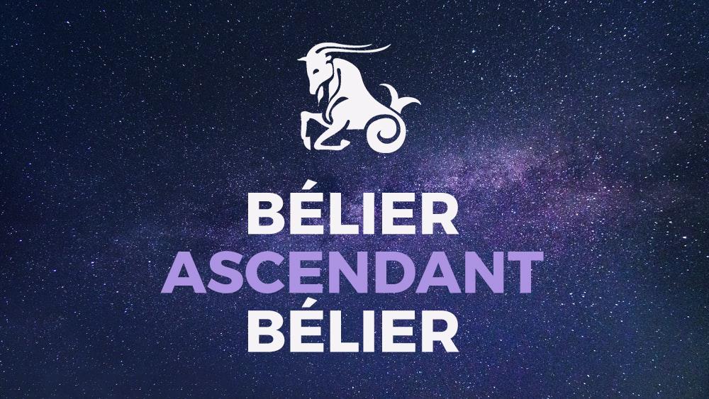 belier ascendant belier