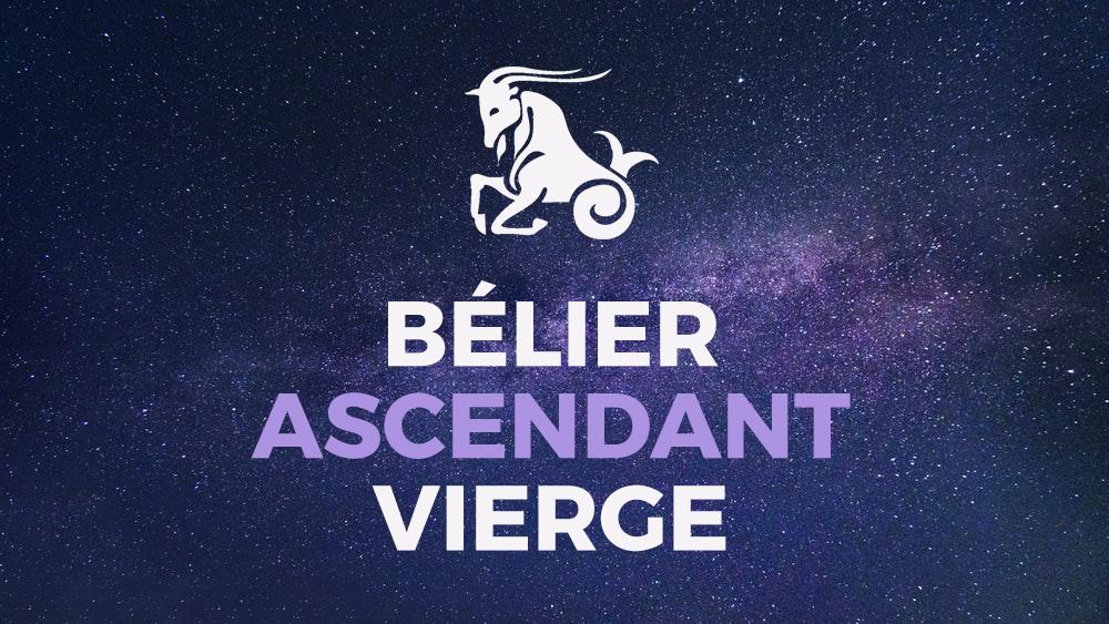 belier ascendant vierge