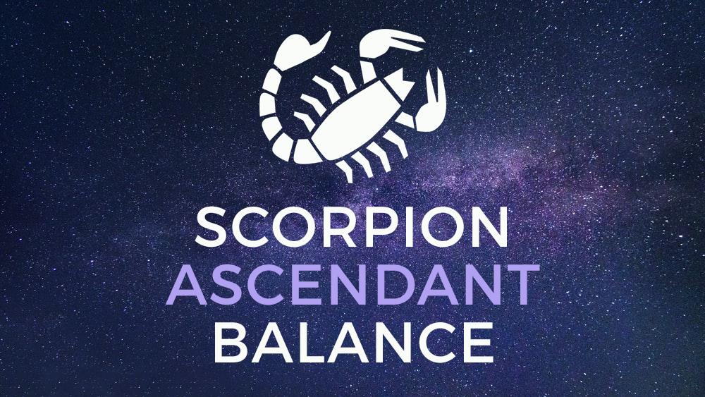 scorpion balance