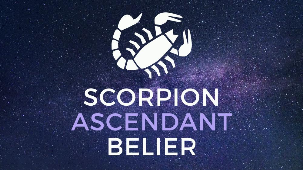 scorpion ascendant belier