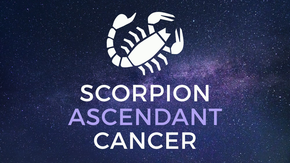 scorpion ascendant cancer