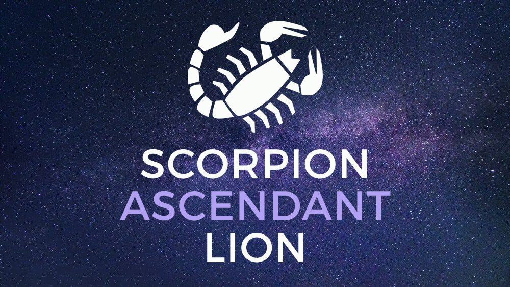 scorpion ascendant lion
