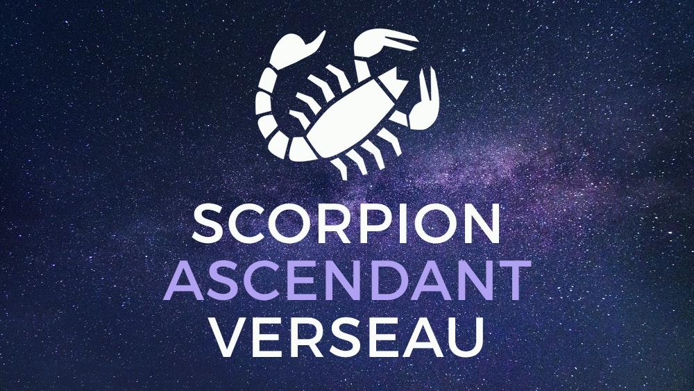scorpion verseau