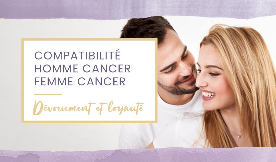 homme cancer femme cancer
