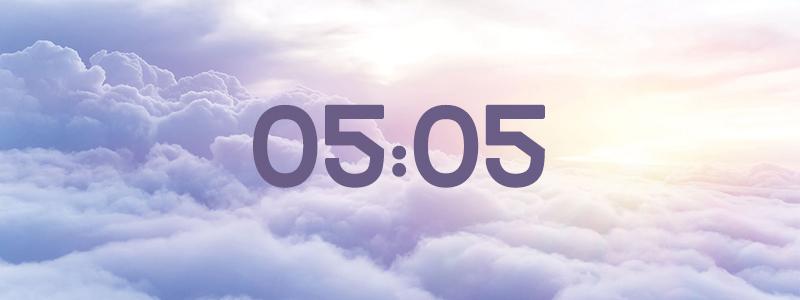 heure miroir 05:05