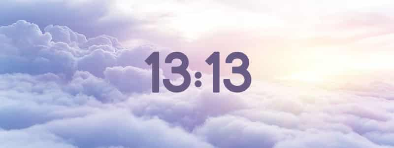 heure miroir 13:13