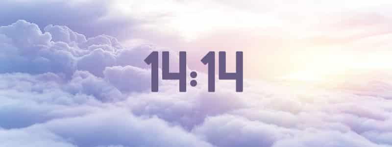 heure miroir 14:14