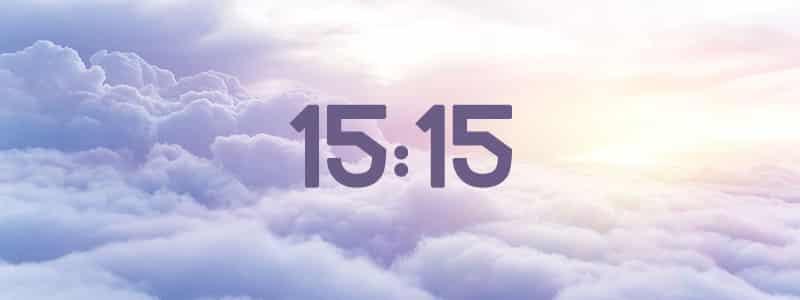 heure miroir 15:15