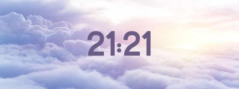 heure miroir 21:21