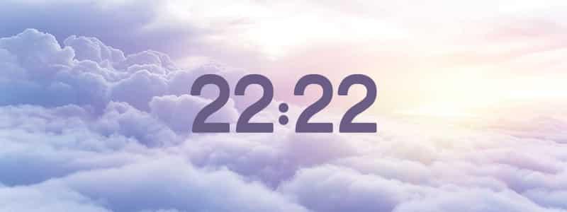 heure miroir 22:22