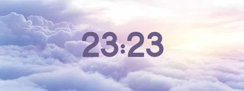 heure miroir 23:23