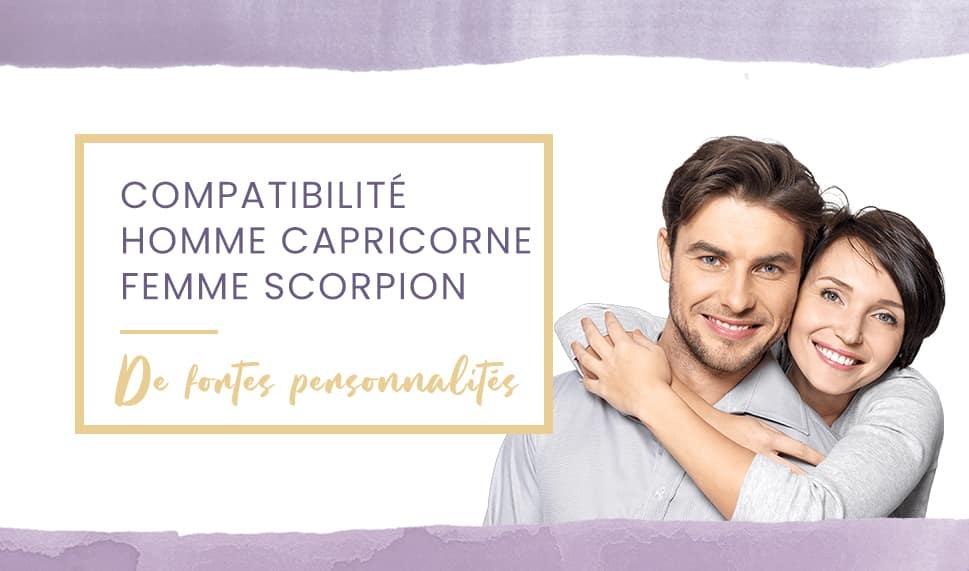 capricorne scorpion