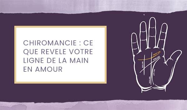 chiromancie amour