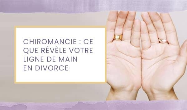 chiromancie divorce