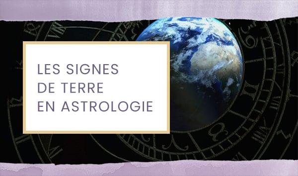 signe terre astrologie