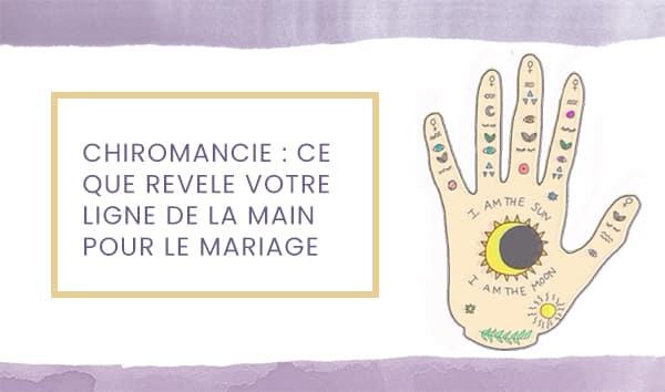 mariage chiromancie
